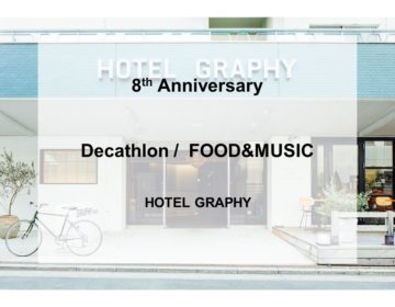 8th Anniversary -Decathlon /  FOOD&MUSIC-